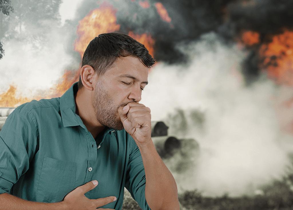 Riscos em Inalar Fumaça