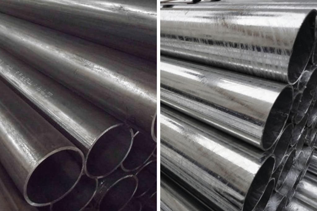 Aço Carbono e Aço galvanizado