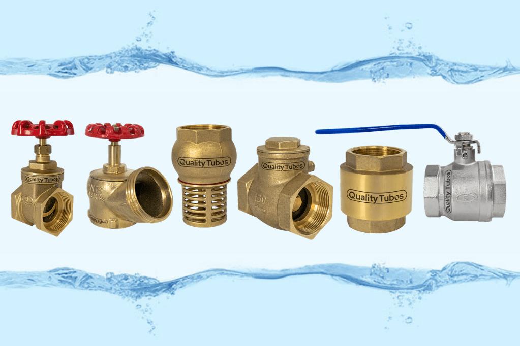 Quais as válvulas de uso mais comum nas instalações hidráulicas?